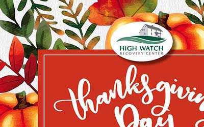 High Watch Recovery Center's Thanksgiving Event